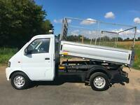 2015 DFSK LOADHOPPER 3 WAY TIPPER CAGED REMOVABLE PETROL ULEZ COMPLIANT ULEV