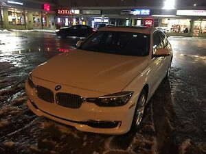 BMW 320i xdrive 2014 with sunroof and beautiful black leather