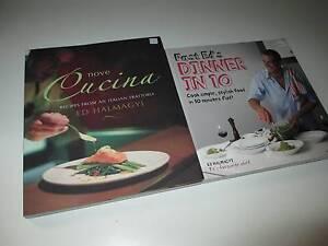 2x Ed Halmagyi Fast Ed Cookbooks As Shown Preston Darebin Area Preview