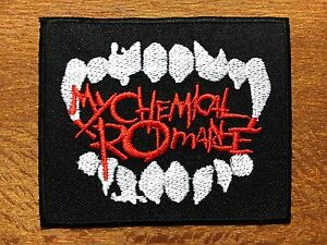 MY-CHEMICAL-ROMANCE-Sew-Iron-On-Patch-Rock-Band-Heavy-Metal-Logo-Embroidered-04
