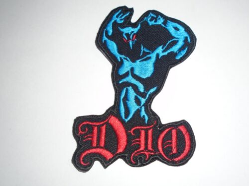 DIO IRON ON EMBROIDERED PATCH