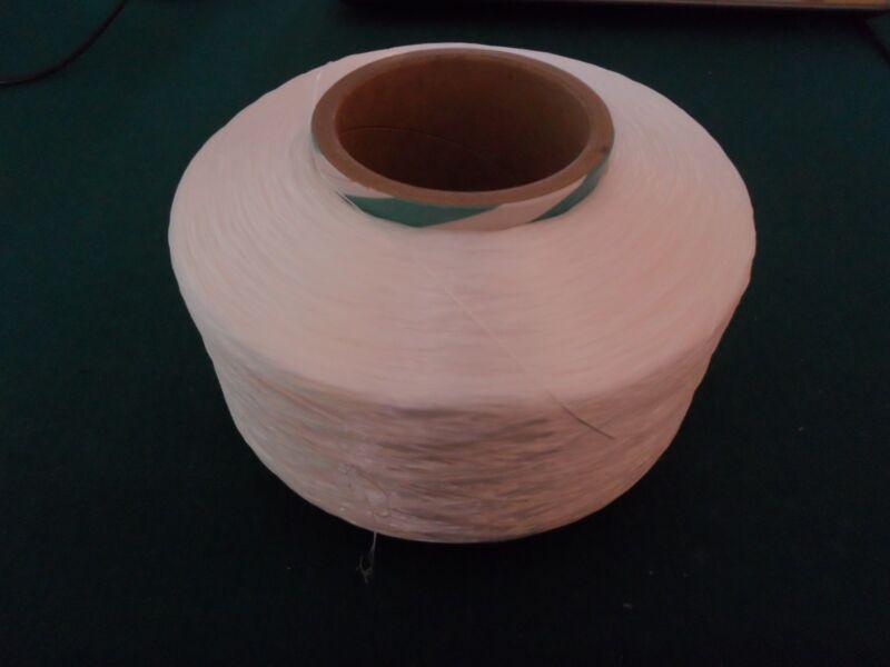 SPANDEX FIBER YARN CONE WHITE 1120D141218