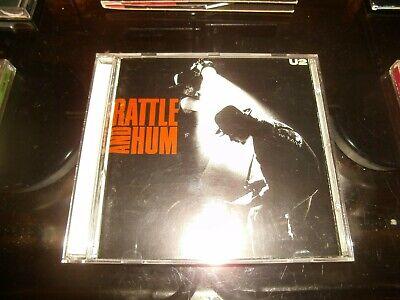 U2 - RATTLE AND HUM       CD Album     (1988)