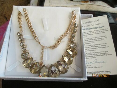 Publishers Clearing House Jeweled Necklace.