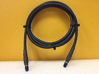 Semflex 57385-03 Dc To 18 Ghz 10.5 Ft Sma M-m Ruggedized Rf Test Cable. New