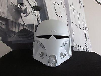 "Star Wars Mando Bounty Hunter ""DEFENDER"" Mandalorian Merc cosplay Helmet Prop"