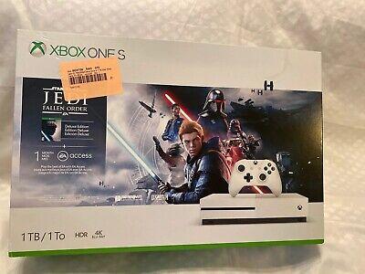 Microsoft Xbox One S 1TB Star Wars Jedi: Fallen Order Deluxe Console Bundle