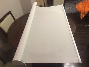 Hunter Douglas roller blinds - white