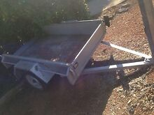 6x4 box trailer with front and rear opening gate Gowrie Tuggeranong Preview