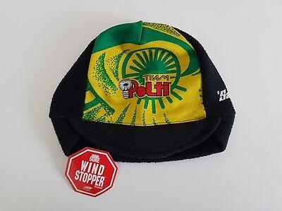 fefa9209aca Santini vintage warm cycling cap POLTI Gore WINDSTOPPER new retro hat