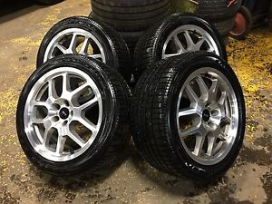 MUSTANG GT500 WHEELS AND TIRE LIKE NEW 18X9.5 GOODYEAR