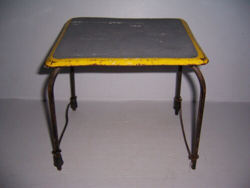 Vintage Mid Century Kitchen Metal Step Stool