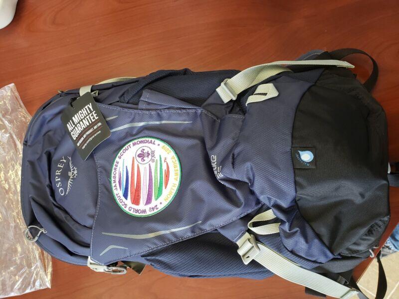 2019 24th World Jamboree Osprey hikelite 26 backpack.