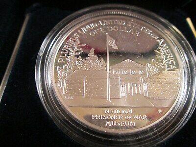 1994 P.O.W. COMMEMORATIVE PROOF $1 SILVER NO COA OR OUTER SLEEVE  PO1