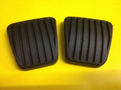 2x Pedal Rubber for Opel Astra F all Models Cabriolet Rubber Pedal Brake Clutch