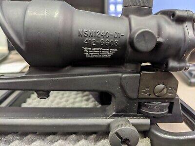 Trijicon ACOG TA01 illuminated BDC Rifle Scope