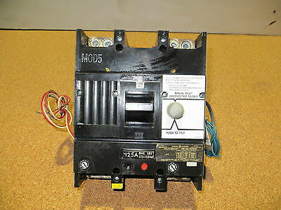 General Electric Tjj426125 2 Pole 125 Amp Circuit Breaker