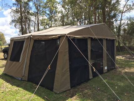 Explorer Camper Trailer - Lawson Off Road 12 foot softfloor