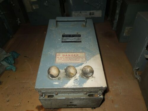 Ge Dfpgn-34 Type De1 Ground Detector 208/480v 3ph 3w (de1p32 Stabs) Used