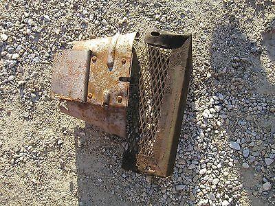 John Deere B Tractor Jd Pto Shield And Frame Rail Mount Tool Box