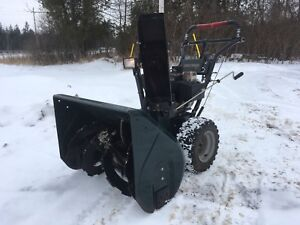 "Craftsman Snowblower 30"" 11HP!  Fully serviced and ready to go!"