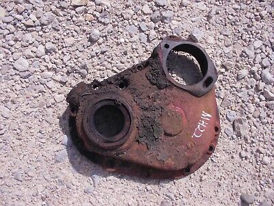 Massey Harris 22 Tractor Mh Engine Motor Front Cover Panel