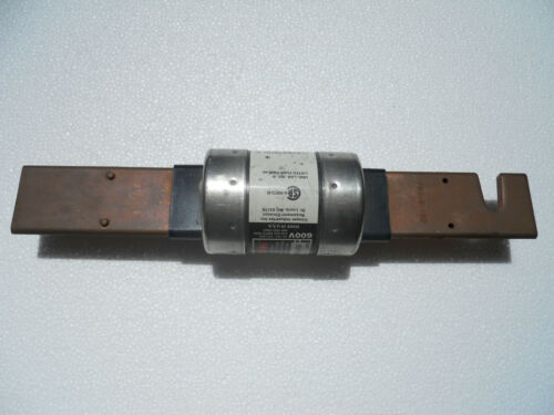 LAST ONE! Bussman Fusetron FRS-R-400 400 amp 600 v Dual Element Time Delay Fuse