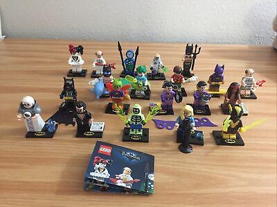 LEGO Batman Movie Series 2 Minifigures Complete Set of 20 - 71017