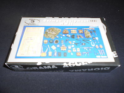 ROYAL MODELS 203 1/35 GERMAN EQUIPMENT WWII RESIN AND PHOTOETCH KIT