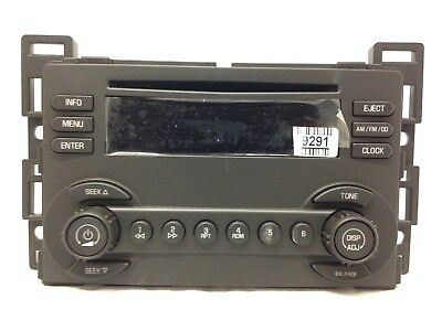 CD radio for 2004-06 Chevy Malibu. OEM stereo. NEW factory original U1C option
