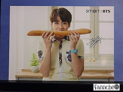 BTS Bangtan Boys SMART Official large Post Card photocard - Jungkook w/ gift