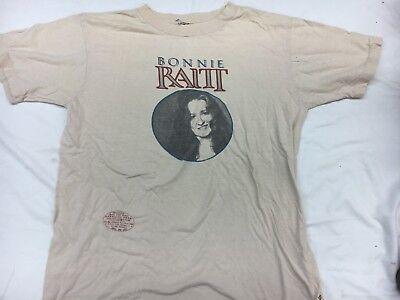 Vintage Bonnie Raitt No Nukes  Shirt Concert  Adult M 70s 80s