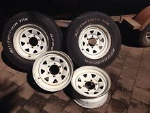 Sunraysia Rims 15 x 7 - Hilux Parap Darwin City Preview