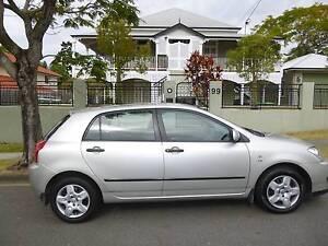 2005 Toyota Corolla Hatchback Kangaroo Point Brisbane South East Preview
