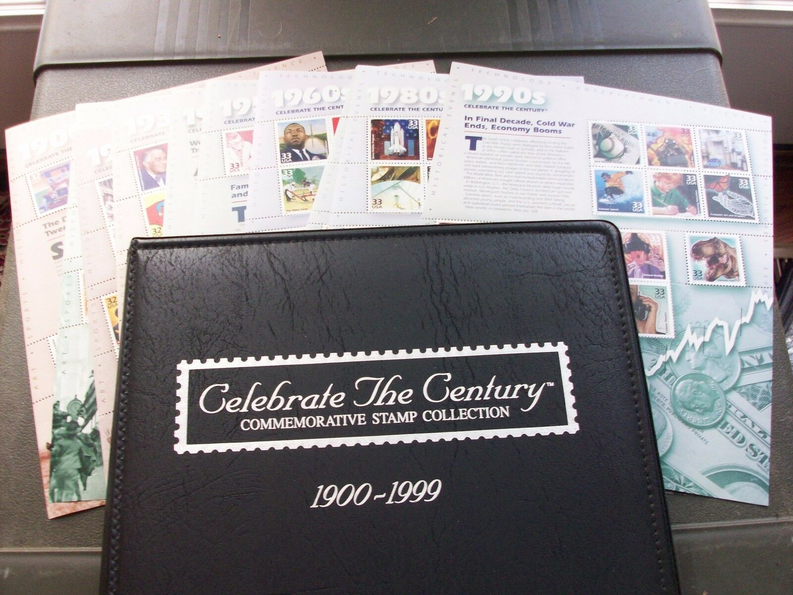 CTC Collection with Leather Like Album Below Face Value - $48.00