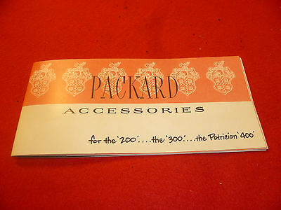 1951 Packard Accessory Catalog