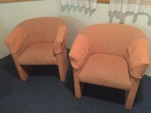 Pair of retro armchairs Mooloolaba Maroochydore Area Preview