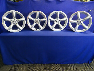 "05 06 07 08 09 Ford Mustang 19.9"" Saleen Situation Wheels 5x114.3 Silver Heritage"