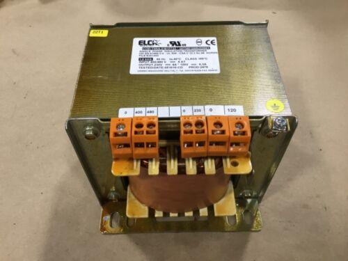 Elca Single Phase Insulation Transformer 1.6 kva 400/480V  #09DKTKA66PR2