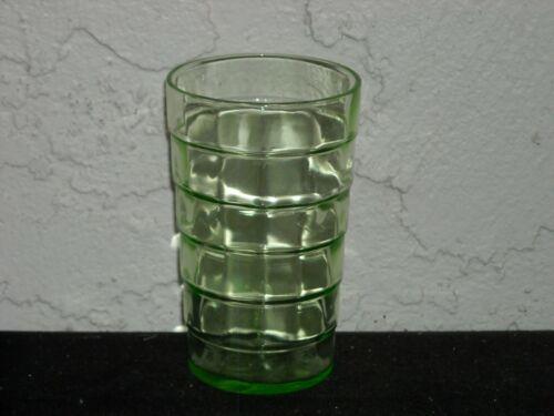 Block Optic Juice Tumbler  Green