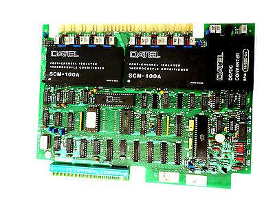 Used Ge Ic600yb813b Thermocouple Input Module Type J
