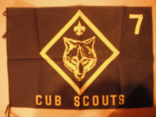 Cub Scouts Wolf Banner excellent condition