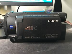 Sony 4k Ultra-HD Camcorder for your V-Log