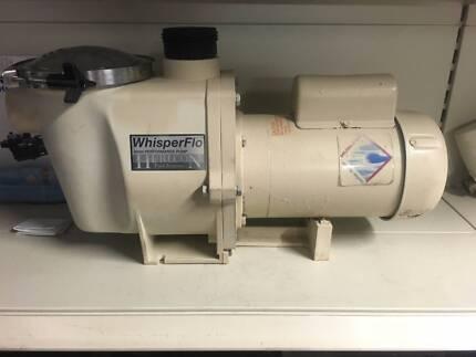 Hurlcon Wisperflo 2hp Pool Pump - Reconditioned - 2 year wnty