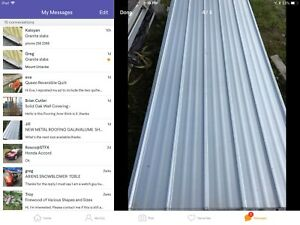 Wanted:  Galvanized metal roofing