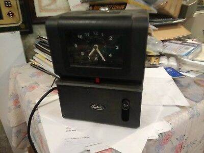 Lanthem Time 2121 Heavy Duty Automatic Time Recorder Needs Re-keying