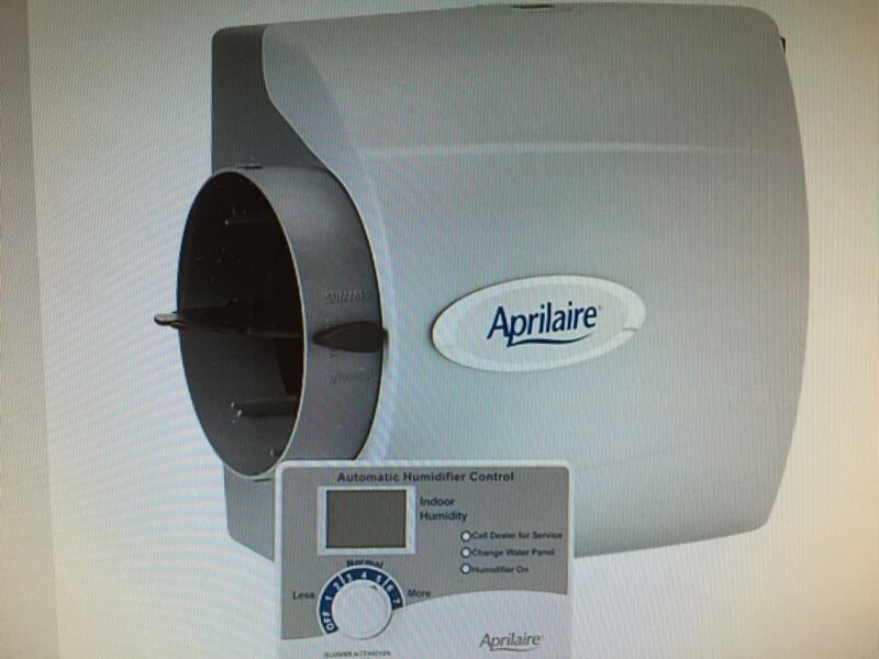 Aprilaire 600 Automatic Whole Home Bypass Humidifier - NEW - Genuine OEM
