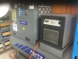 HERTZ 7.5 AIR COMPRESSOR FOR SALE Rockingham Rockingham Area Preview