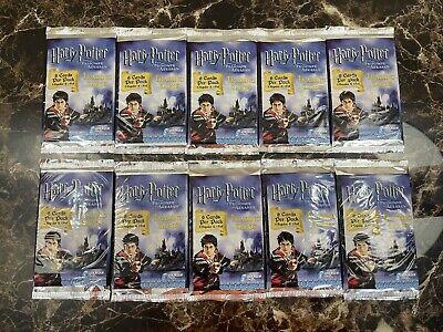 Harry Potter and the Prisoner Of Azkaban Trading Card Packs Brand New (10 Packs)