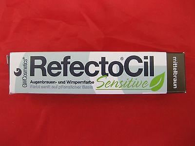 Augenbrauenfarbe Wimpernfarbe RefectoCil Sensitive mittelbraun €36,67/100ml
